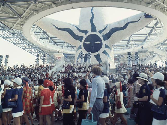 Closing ceremony of Osaka's Expo '70