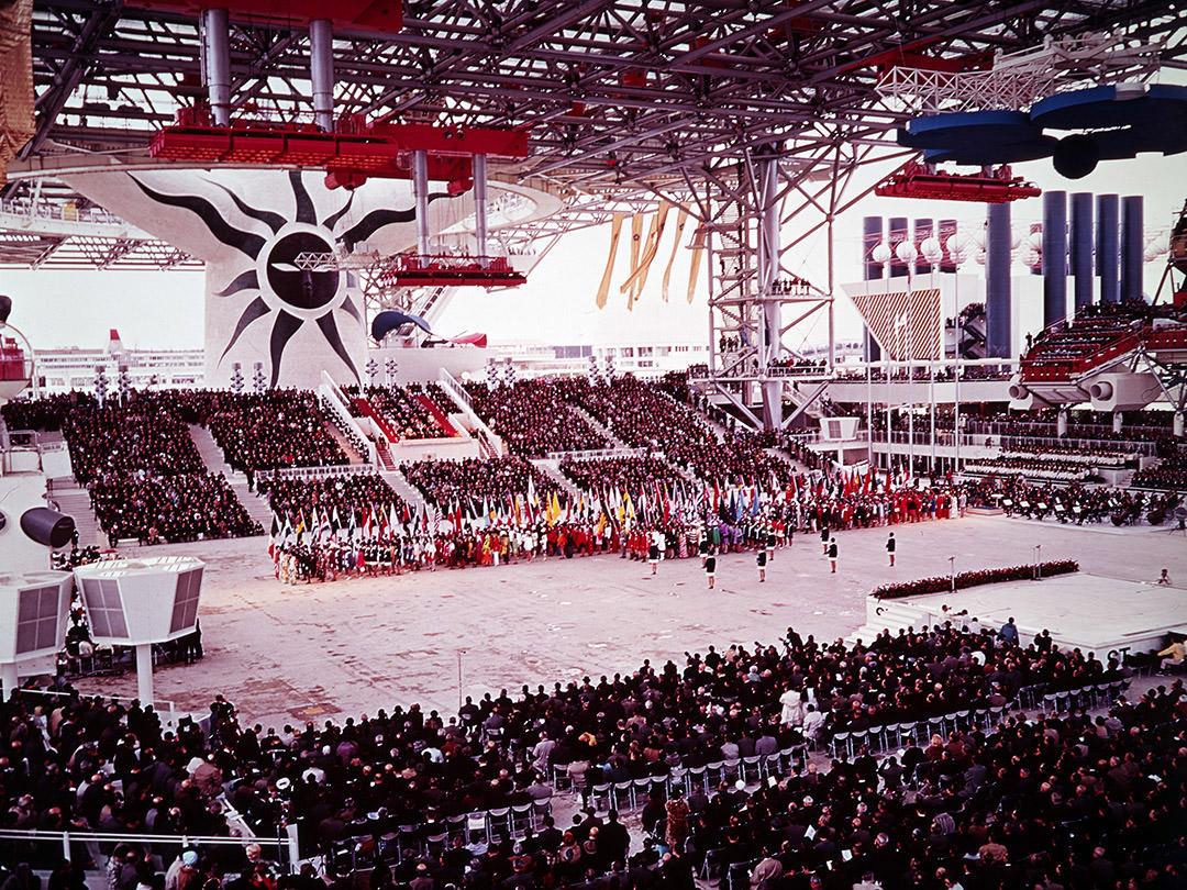 Opening ceremony of the 1970 Osaka Expo