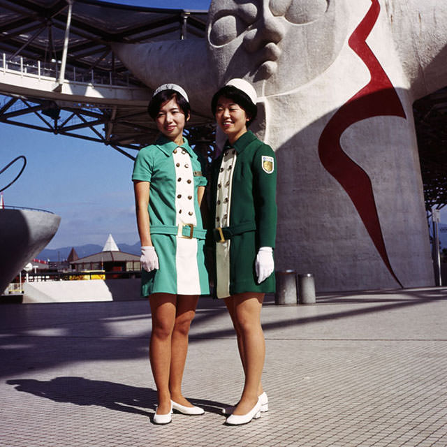 On-Site Staff Members at Expo '70