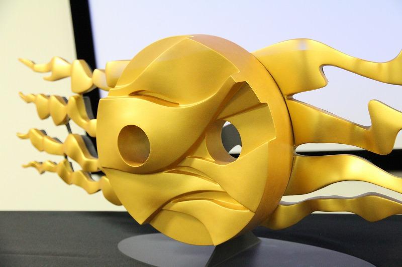 地底の太陽(第4の顔)原型模型