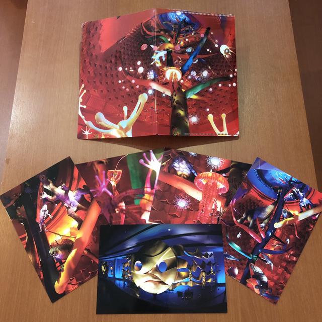 太陽之塔內 博物館商店限定 美術明信片5張一套